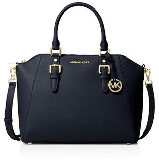 MICHAEL Michael Kors Ciara Large Leather Satchel