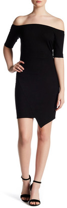 Soprano Off-the-Shoulder Bodycon Dress $42 thestylecure.com