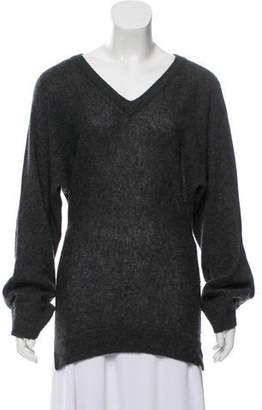 Minnie Rose Cashmere V-Neck Sweater