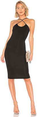 by the way. Courtney Cross Front Midi Dress