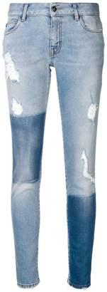 Just Cavalli distressed skinny jeans