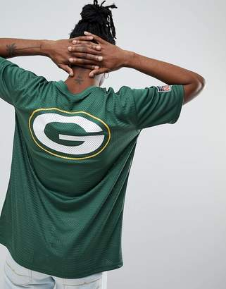 New Era NFL Green Bay Packers Jersey T-Shirt In Green