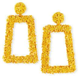 Sachin + Babi Fleur Dusk Clip-On Drop Earrings