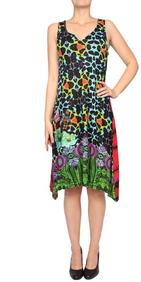 Desigual Women's Dress - coloured, M