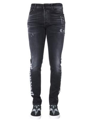 Marcelo Burlon County of Milan Slim Fit Jeans