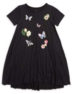 Lauren Moshi Little Girl's Butterfly Swing Dress
