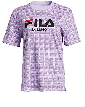 Fila Women's Runway Milano Cotton Logo Tee