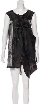 Zucca Textured Mini Dress