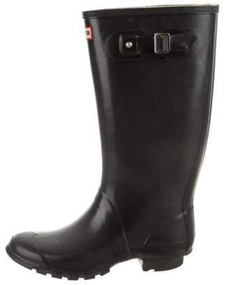 Hunter Round-Toe Rain Boots
