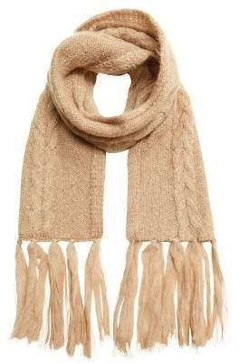 MANGO Mohair scarf
