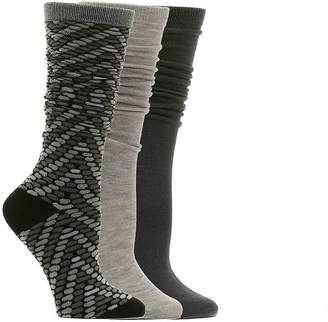 Nine West Chevron Knee Socks - 3 Pack - Women's