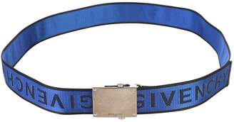 Givenchy Blue Branded Belt