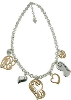 GUESS UBN80803 Women's Stainless Steel Necklace in Silver 45 cm