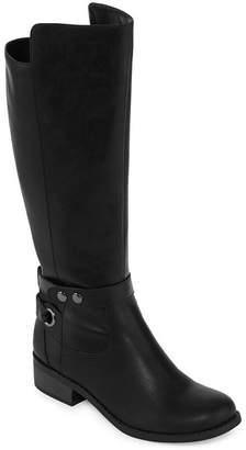 Arizona Womens Cuala Riding Boots Flat Heel Zip