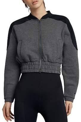 Nike Dry Cropped Bomber Jacket