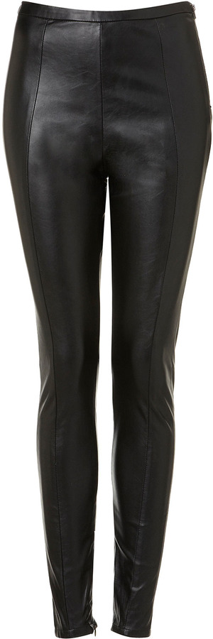Premium Leather Look Leggings