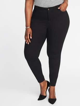 Old Navy Plus-Size High-Rise Rockstar Super Skinny Jeans