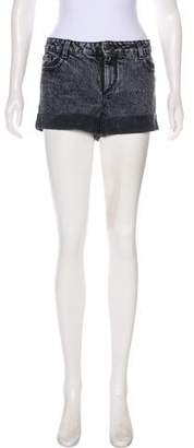 Alice + Olivia Mid-Rise Denim Shorts