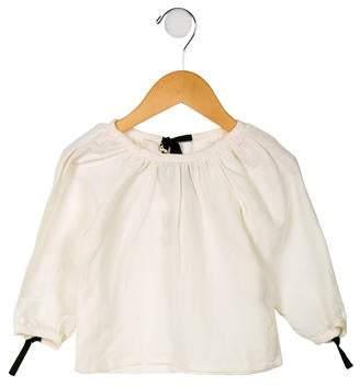Factory Little Creative Girls' Sack Long Sleeve Blouse