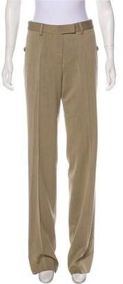 Gianfranco Ferre Wool Mid-Rise Pants w/ Tags