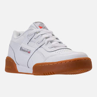 Reebok Boys' Grade School Classics Workout Plus Casual Shoes