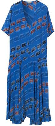 By Malene Birger SILK BLUE DRESS - 6 - Blue