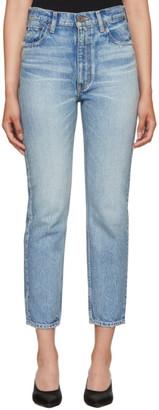 Moussy Vintage Blue Glen Boy Skinny Jeans