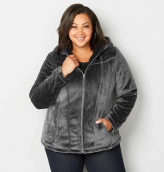 Avenue Plush Hoodie Jacket