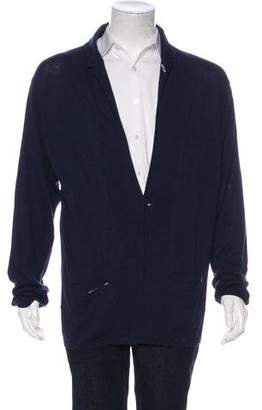 Gant Knit One-Button Cardigan