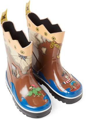Kidorable Toddler/Kids Boys) Pirate Rain Boots