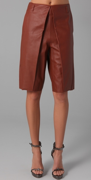 3.1 Phillip Lim Leather Culottes