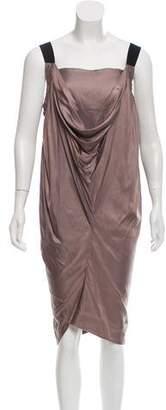 Zero Maria Cornejo Sleeveless Midi Dress
