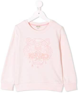 Kenzo logo patch sweatshirt