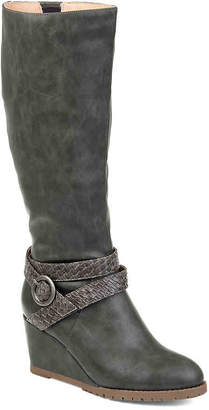 Journee Collection Garin Wedge Boot - Women's