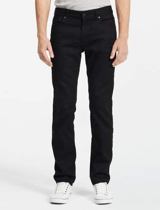Calvin Klein slim straight black jeans