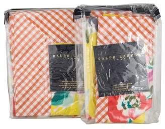 Ralph Lauren 2-Piece Fowlers Lane Bed Linen Set w/ Tags