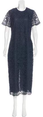 Jenni Kayne Guipure Lace Evening Dress