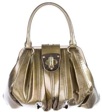 Alexander McQueen Alexander McQueen Patent Leather Novak Bag