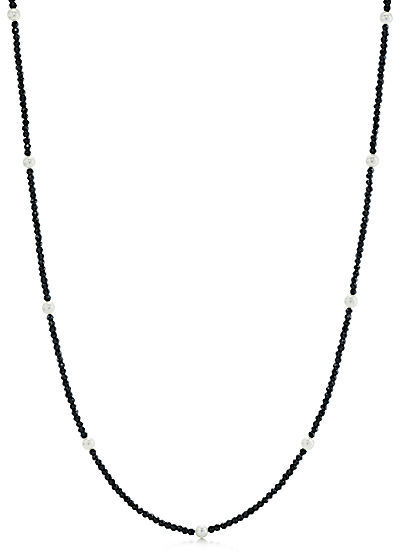 Tiffany & Co. Ziegfeld Collection:Black Spinel and Pearl Necklace