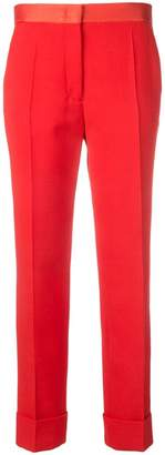 Joseph silk waistband tailored trousers