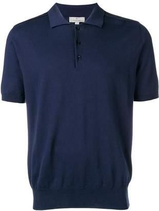 Canali short-sleeved polo shirt
