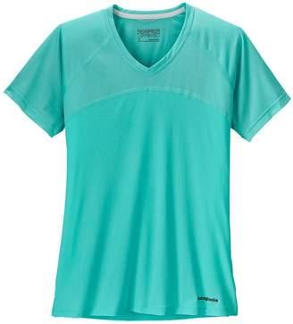 Patagonia Women's Short-Sleeved Windchaser Shirt