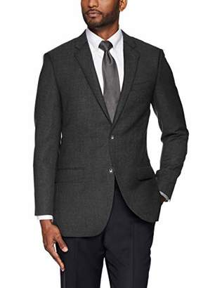 Buttoned Down Men's Tailored Fit Super 110 Italian Wool Hopsack Blazer