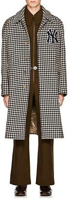 Gucci Men's NY YankeesTM Houndstooth Wool Coat