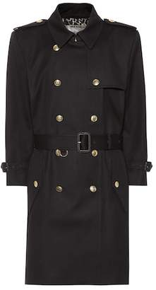 Givenchy Double-breasted cotton coat