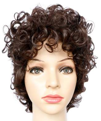 styling/ Tricandide Women's Wigs Curly Hair Short Wig Hair Periwig