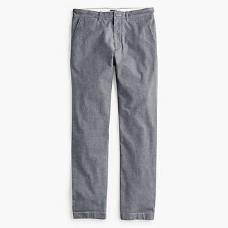 J.Crew 1040 Athletic-fit pant in stretch chambray