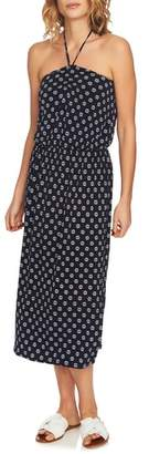 1 STATE 1.STATE Cinched Front Halter Dress