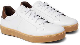 Ermenegildo Zegna Leather Sneakers