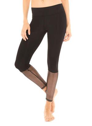 Terez Glitter Mesh Ankle-Length Leggings